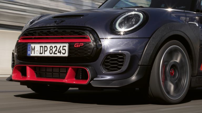 MINI John Cooper Works GP – front view – bumper